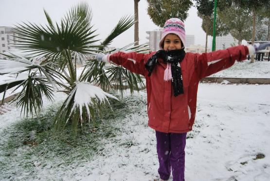 Sanlıurfa'dan kar manzaraları