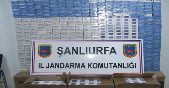 12 461 Paket Kaçak Sigara Ele Geçirildi