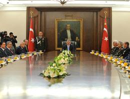 2011 yılının son Milli Güvenlik Kurulu Toplantısı başladı