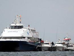 Kocaelide 11 Kasımda bir terörist tarafından kaçırılan Kartepe adlı deniz otobüsü 1 milyon 175 bin dolara satıldı