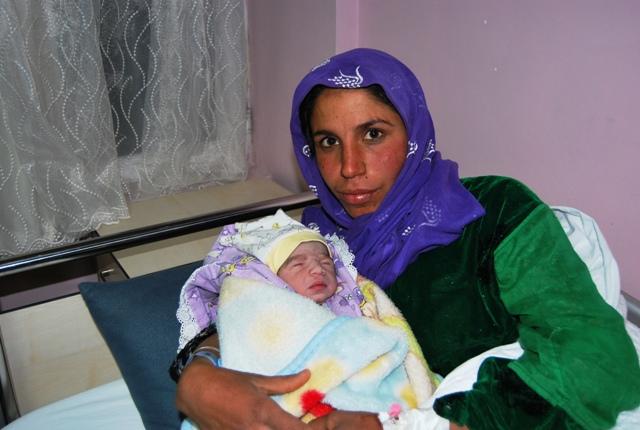 Şanlıurfa da 2012 nin İlk Bebeği Yusuf