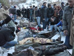 CHP heyeti, bölgeye helikopter gönderilmediği için 13 yaralı köylünün yolda öldüğünü iddia etti