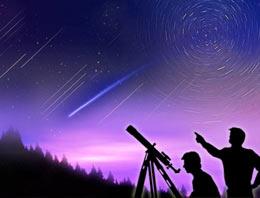 Yılın ilk yıldız yağmuru bu gece gökyüzünü renklendirecek