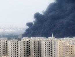 Suriyenin Humus kentinde Batılı bir gazetecinin de öldüğü saldırıda 8 kişi yaşamını yitirirken 25 kişi de yaralandı.