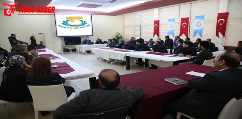 Haliliye'de Personellere Hizmet İçi Eğitim Verildi