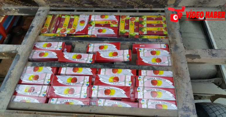 Urfa'da 120 bin kaçak sigara ele geçirildi