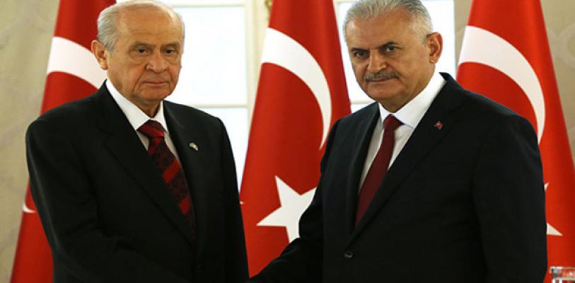 AK Parti ile MHP Yeni Anayasa Taslağı Haftaya Mecliste
