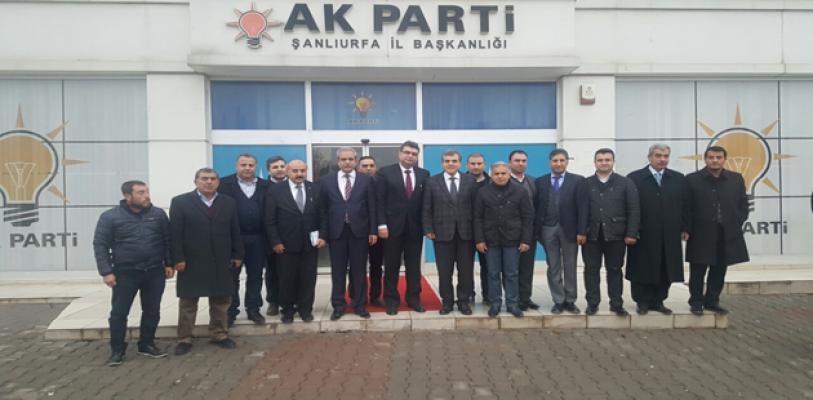 Bakan Yardımcısı'ndan AK Parti İl Başkanlığına Ziyaret