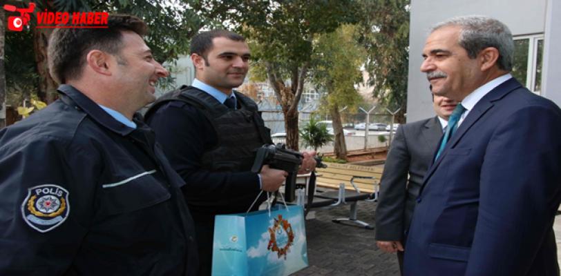 Başkan Demirkol Polis Merkezini Ziyaret Etti
