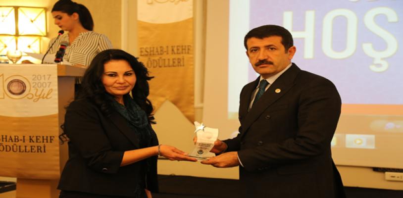 Başkan Ekinci'ye Yılın Belediye Başkanı Ödülü