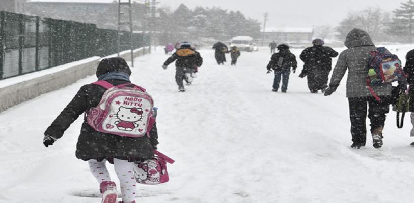 Kar yağışı 19 ilde okulları tatil ettirdi