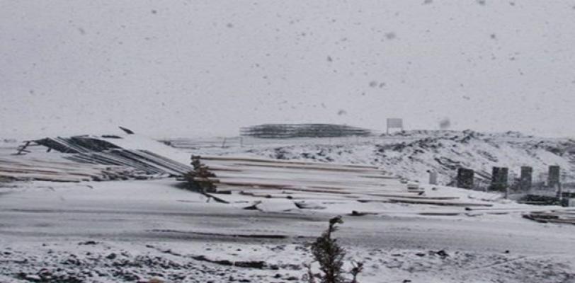 Şanlıurfa'ya yılın ilk karı yağdı