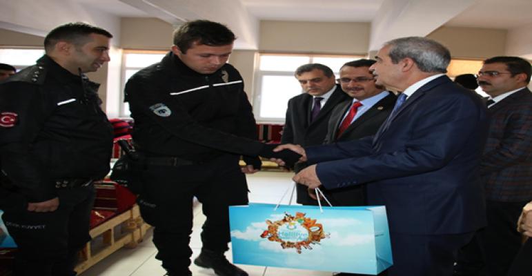 Urfa'da Çevik Kuvvet Polislerine Moral Ziyareti