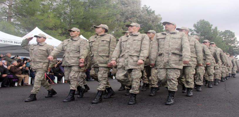 Urfa'da kısa dönem askerler yemin etti