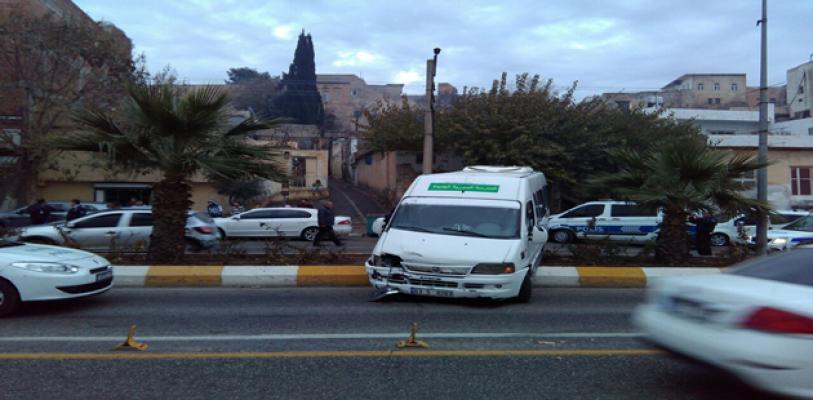 Urfa kaza, 2 yaralı