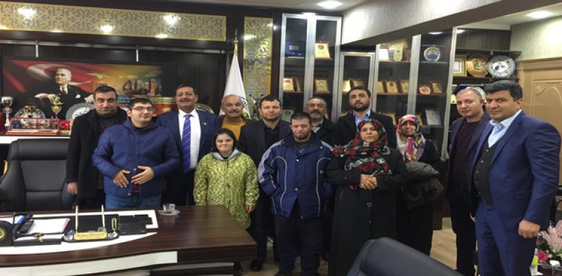 Zihinsel engelliler derneğinden Harran'a ziyaret