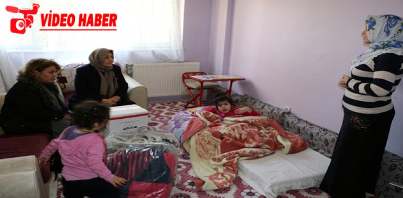 Çiftçi'den Elif Nur'a Ziyaret