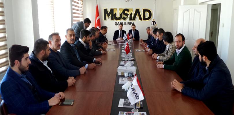 Cumhurbaşkanı Başdanışmanı Önen'den MUSİAD'a ziyaret