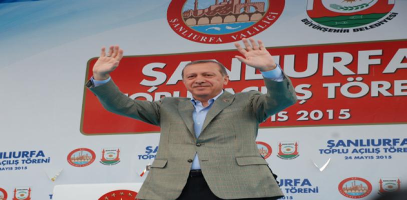 Cumhurbaşkanı Erdoğan Şanlıurfa'ya geliyor .
