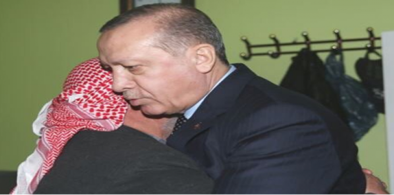 Cumhurbaşkanı Urfalı Şehidin ailesini ziyaret etti