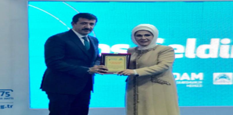 Emine Erdoğan, YEDAM'in açılışına katıldı