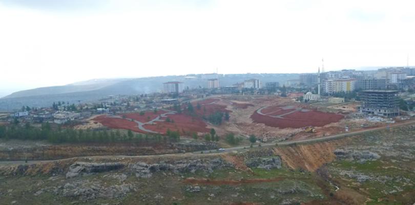 Halfeti Parkı'nın Yapımı Sürüyor