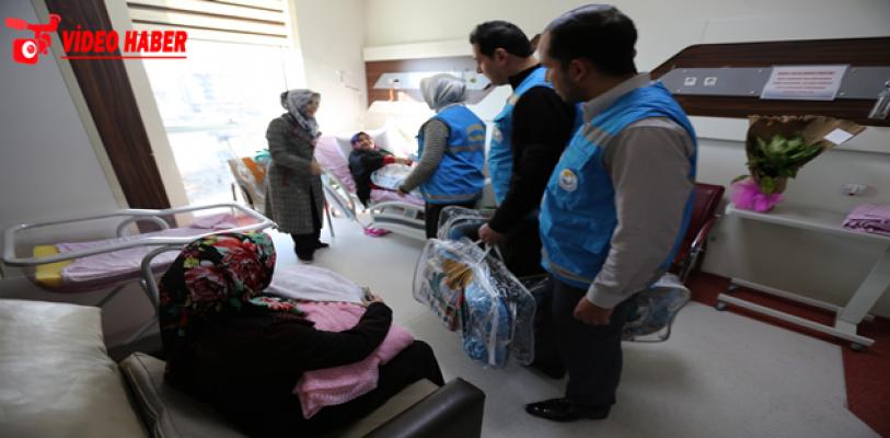 Haliliye'den 500 Bebeğe Daha 'Hoş Geldin' Hediyesi