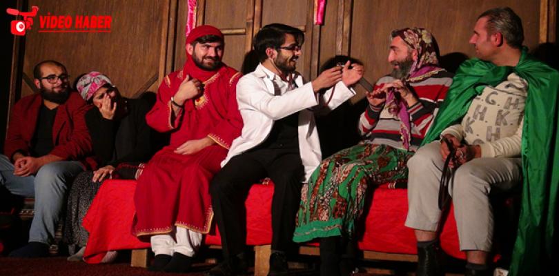 Hayatlı Evin Hayaleti 2' Suruç'ta Sahnelendi