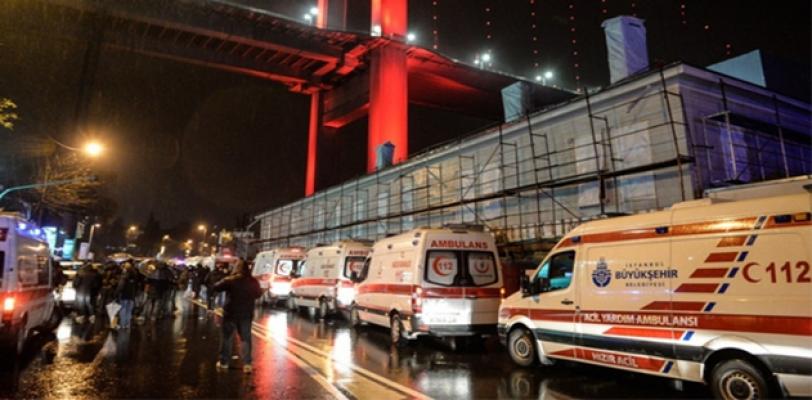 İstanbul'da gece kulübüne saldırı: 39 ölü 69 yaralı