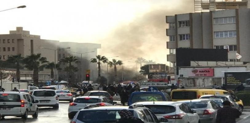 İzmir'de Adliye Önünde Patlama