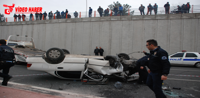 Şanlıurfa yeni dalgeçte  kaza, 4 yaralı