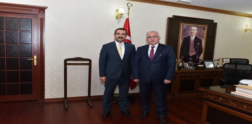 ŞUTSO Meclis Başkanı Taş'tan Vali Tuna'ya Ziyaret