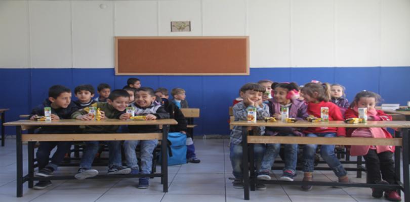 Üniversite öğrencileri Suriyeli çocukları ziyaret etti