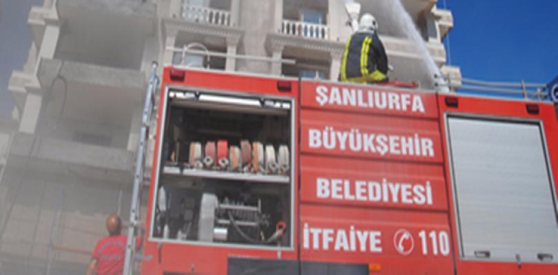 Urfa'da okulda çıkan yangın paniğe neden oldu