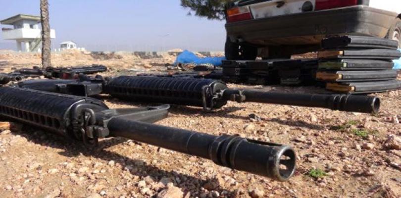 Urfa'da silah ele geçirildi