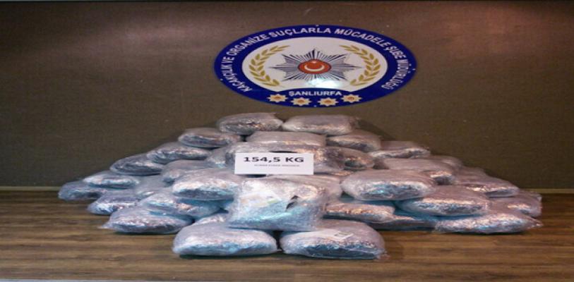 Urfa'da uyuşturucu operasyonu, 4 gözaltı