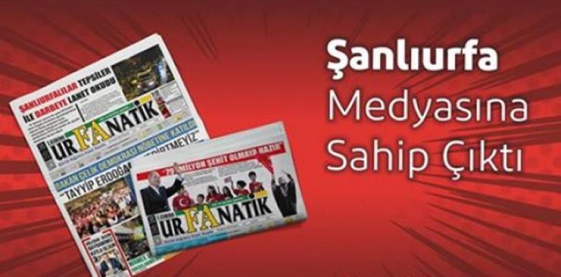 Urfanatik Gazetesi Açıldı