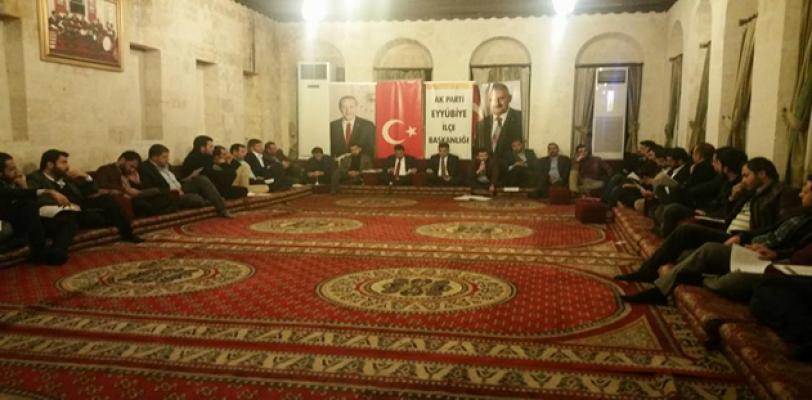 AK Parti Eyyübiye Referandum çalışmalarına hızlı başladı