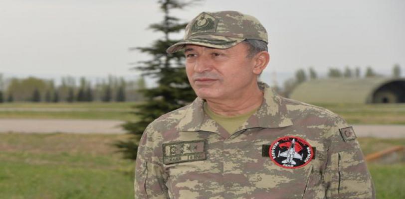 Genelkurmay Başkanı Suriye Sınırına Gitti