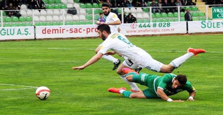 Giresunspor 3-1 Şanlıurfaspor