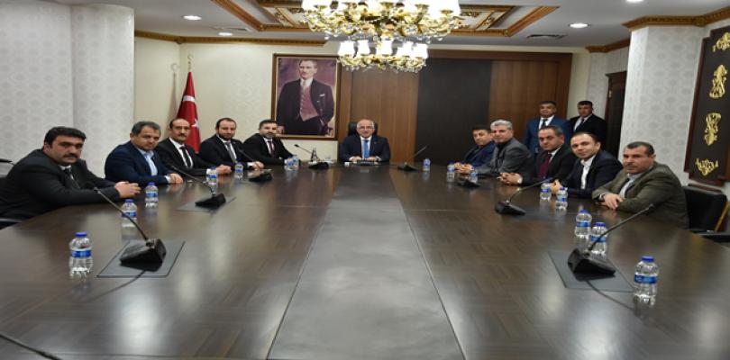 MÜSİAD'ın Yeni Yönetiminden Vali Tuna'ya Ziyaret