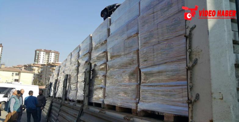 Urfa'da durdurulan kamyonda kaçak sigara yakalandı