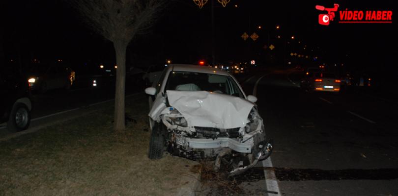 Urfa'da zincirleme kaza, 1 yaralı