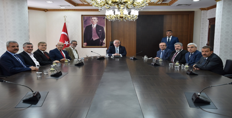 Vali Tuna ŞURKAV İstanbul Şubesini Kabul Etti