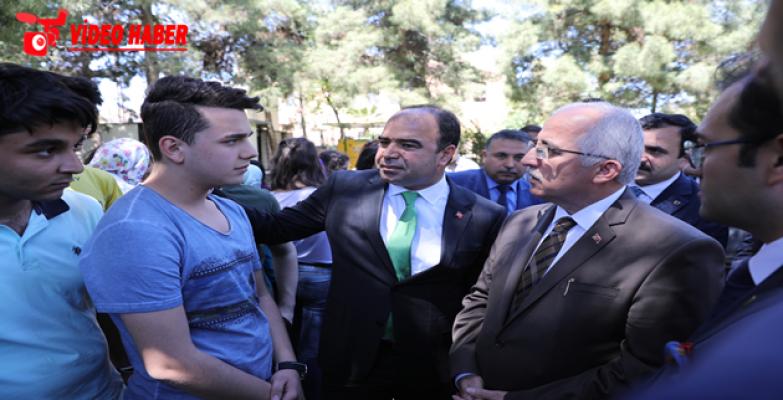 Başkan Çiftçi Ve Vali Tuna İstanbullu Öğrencileri Ağırladı