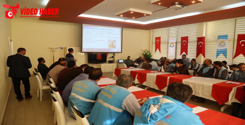 Haliliye'de Fen İşleri İşçilerine İş Sağlığı Ve Güvenliği Eğitimi