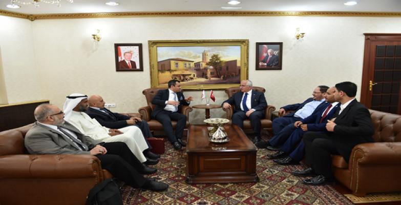 Kuveyt İstanbul Başkonsolosu Şanlıurfa'da