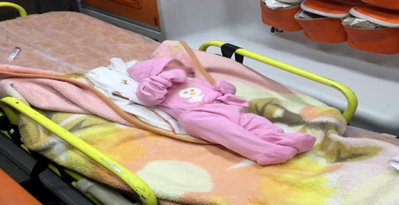 Urfa'da yol kenarında bebek bulundu