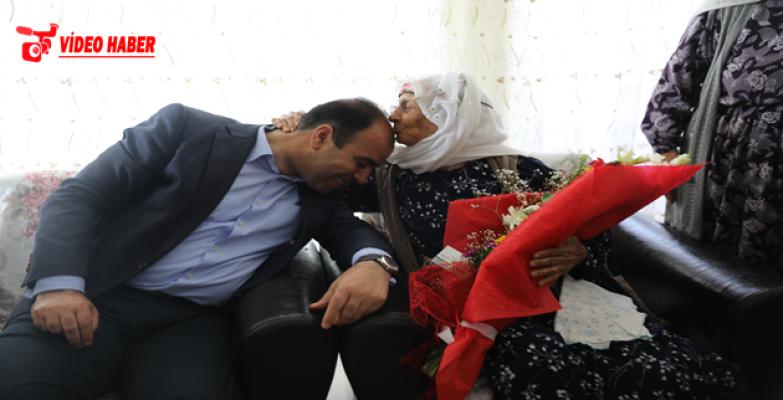 Başkan Çiftçi'den Anneler Gününde En Anlamlı Ziyaret