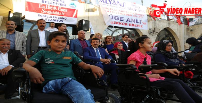 Başkan Ekinci, Engellileri Yine Yalnız  Bırakmadı